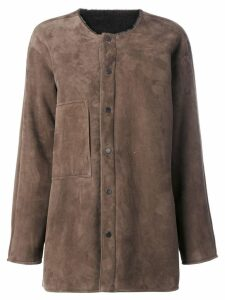 Liska Alfredo coat - Brown