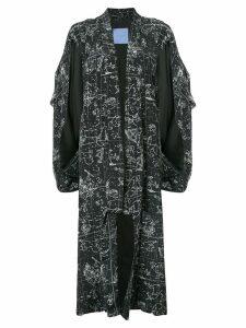 Macgraw Medici kimono coat - Black