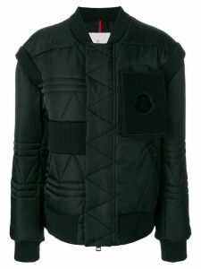 Moncler oversized padded coat - Black