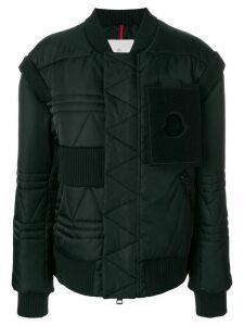 Moncler oversized padded coat - Black