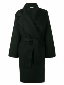Bottega Veneta belted coat - Black