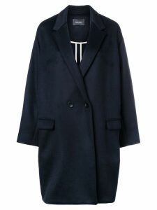Isabel Marant Filipo oversized overcoat - Blue
