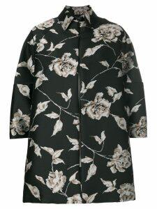 Antonio Marras oversized floral jacket - Black