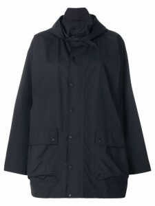Balenciaga oversized raincoat - Blue