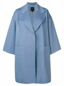 Theory oversized coat - Blue