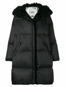 Yves Salomon Army Kalgan coat - Black