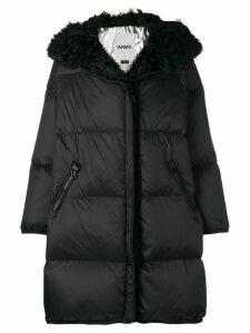 Yves Salomon Army Kalgan coat - Black