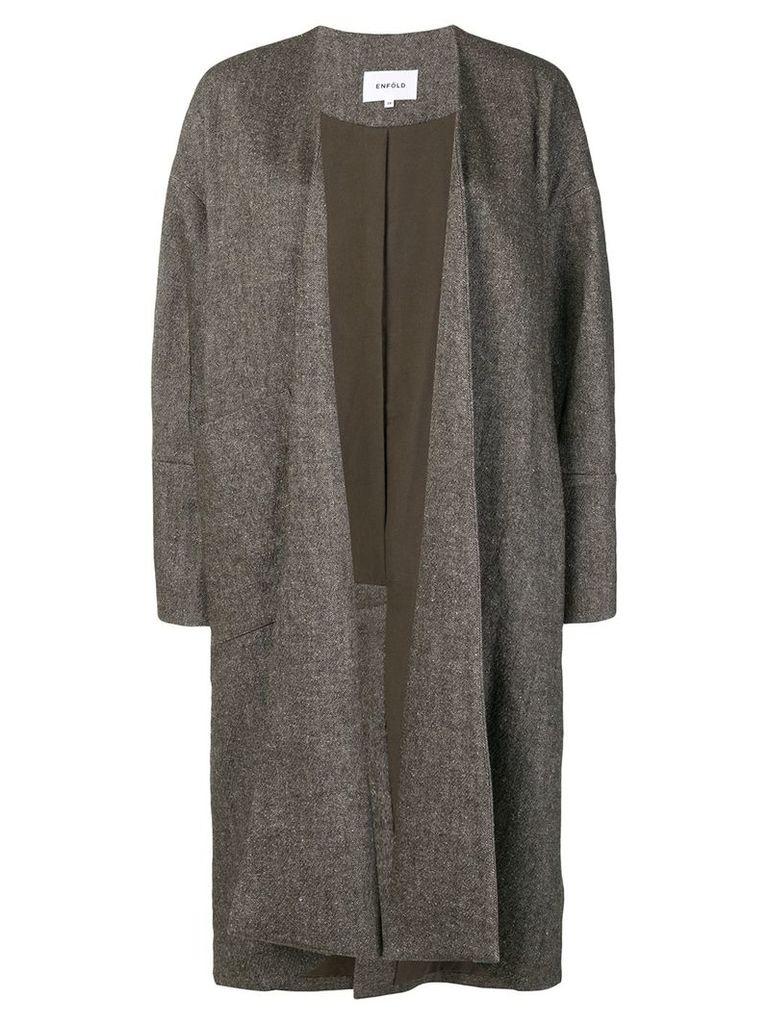 Enföld oversized fit coat - Grey