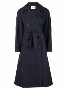 Enföld oversized belted coat - Blue