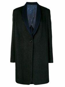 Golden Goose Cosmic Glitter oversized coat - Black