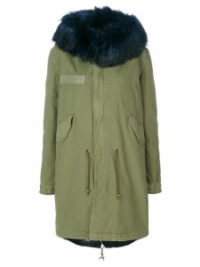 Mr & Mrs Italy fur hooded parka - Green