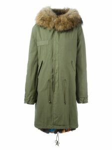 Mr & Mrs Italy fur lined mid parka - Green