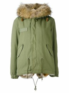 Mr & Mrs Italy Army mini parka - Green
