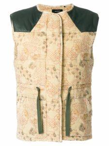 Isabel Marant padded waistcoat - Yellow