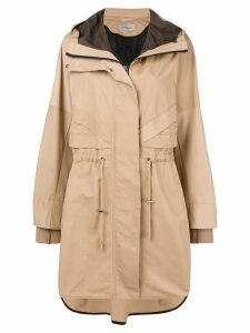 Sportmax hooded parka - Neutrals