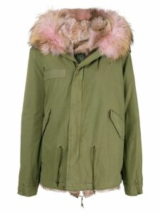 Mr & Mrs Italy loose fitted parka coat - Green
