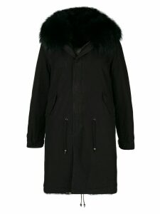 Mr & Mrs Italy midi length parka - Black