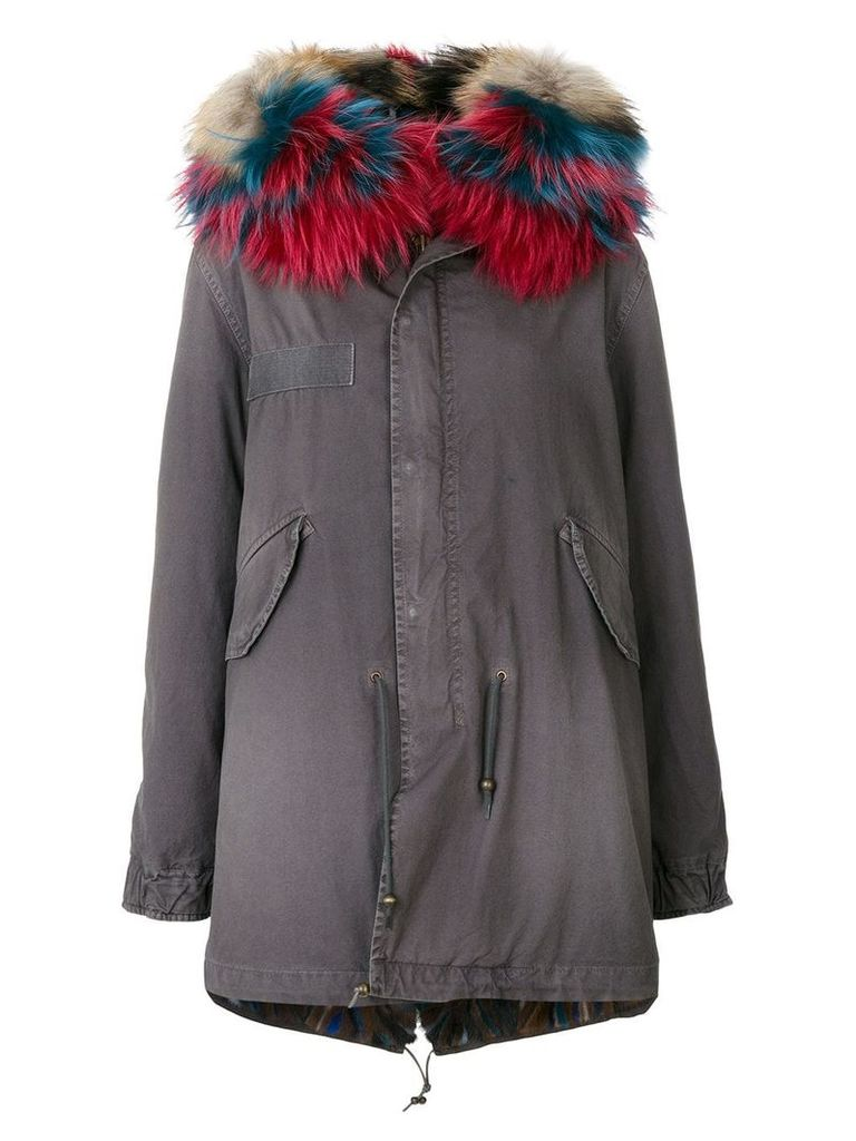 Mr & Mrs Italy fur-lined parka - Green