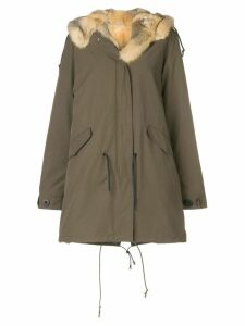 Liska fur hooded parka - Green