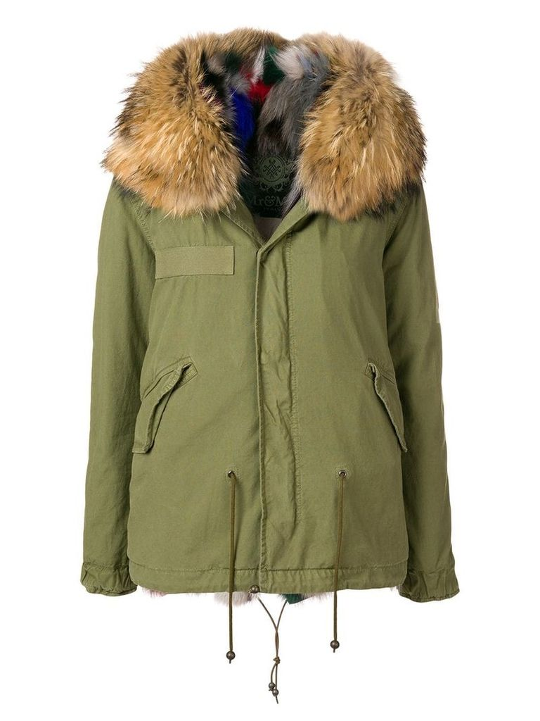 Mr & Mrs Italy hooded parka coat - Green