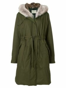 Holland & Holland hooded parka - Green