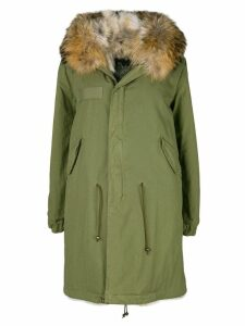 Mr & Mrs Italy midi length parka - Green