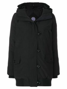 Canada Goose padded hooded parka - Black