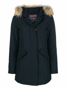 Woolrich fur raincoat - Blue