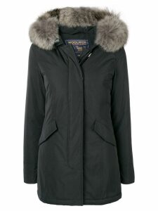 Woolrich fur trim parka - Black
