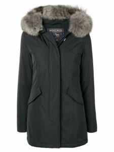 Woolrich fur trim parka - Black