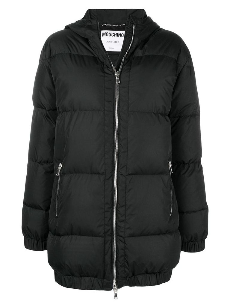 Moschino Couture padded parka - Black