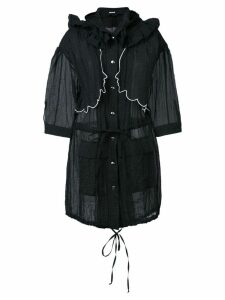 Vivetta over long parka - Black