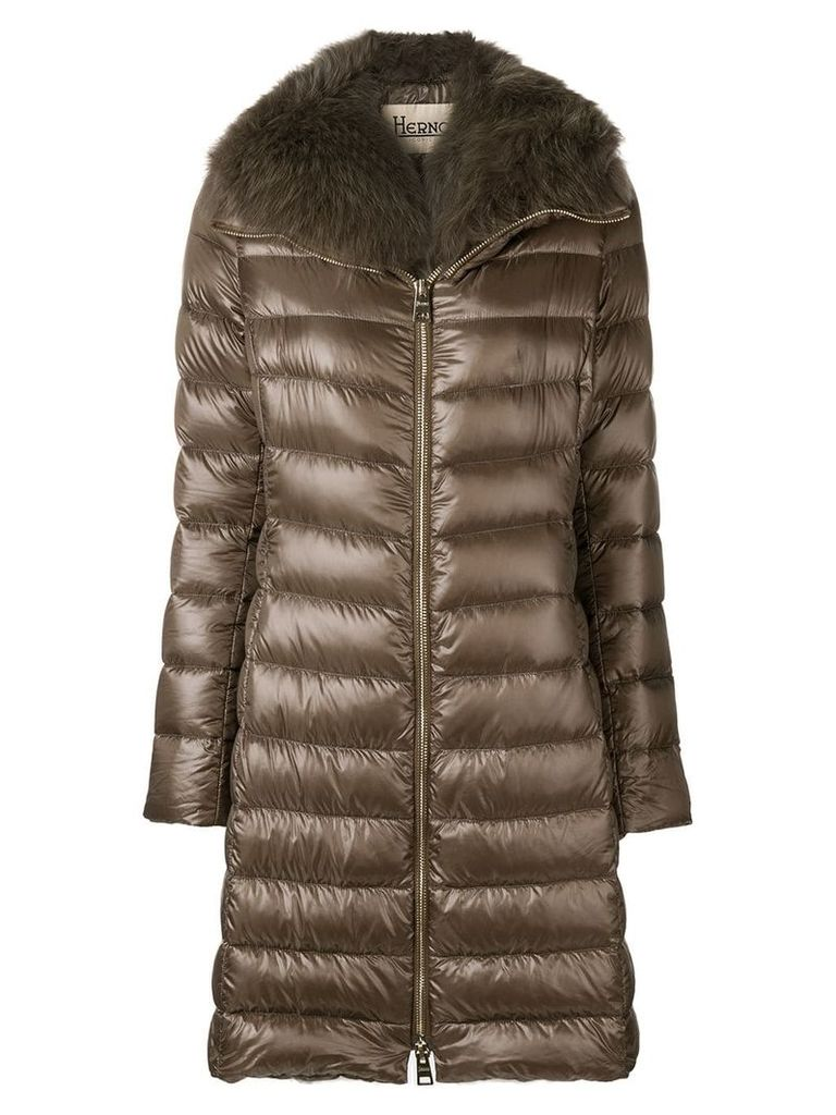 Herno Iconic Elisa padded coat - Brown