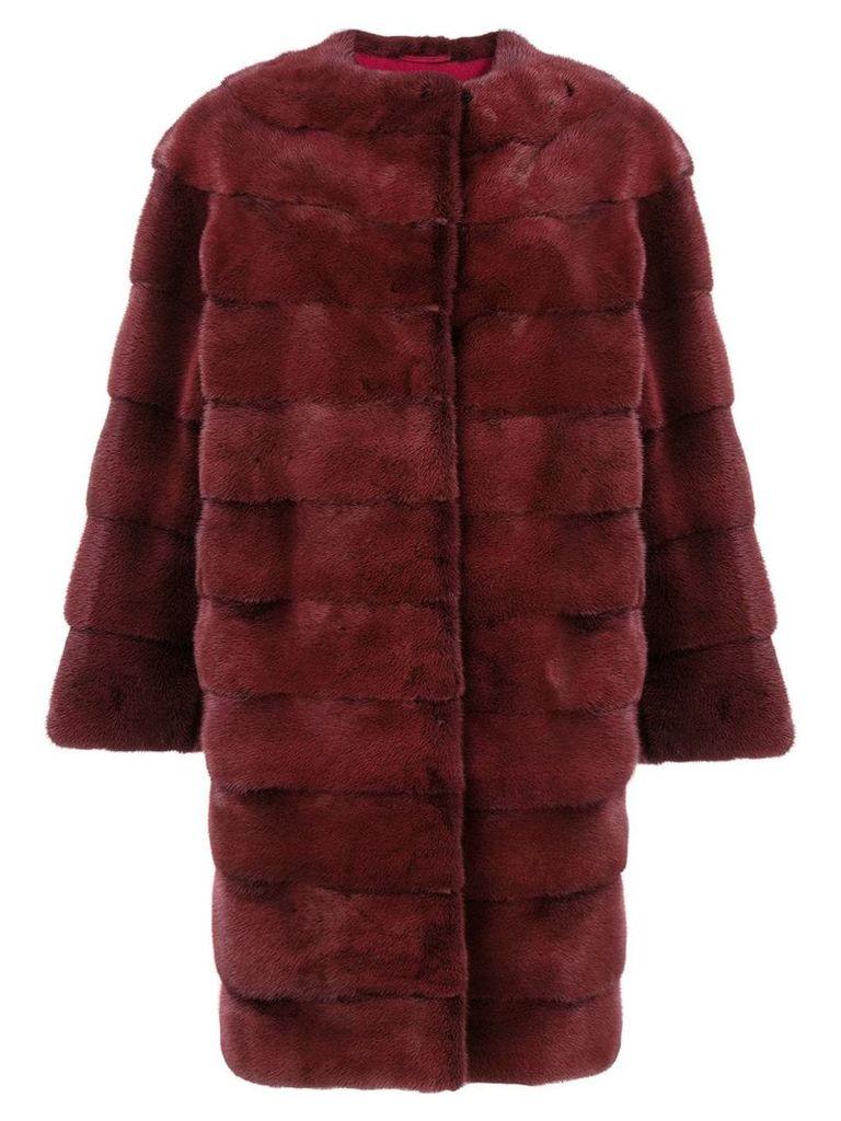 Liska Luce coat - Red