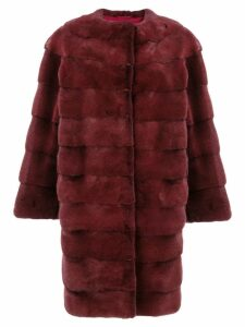 Liska Luce coat - Red
