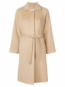 Red Valentino belted single-breasted coat - Neutrals