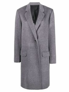 Helmut Lang single breasted coat - Grey