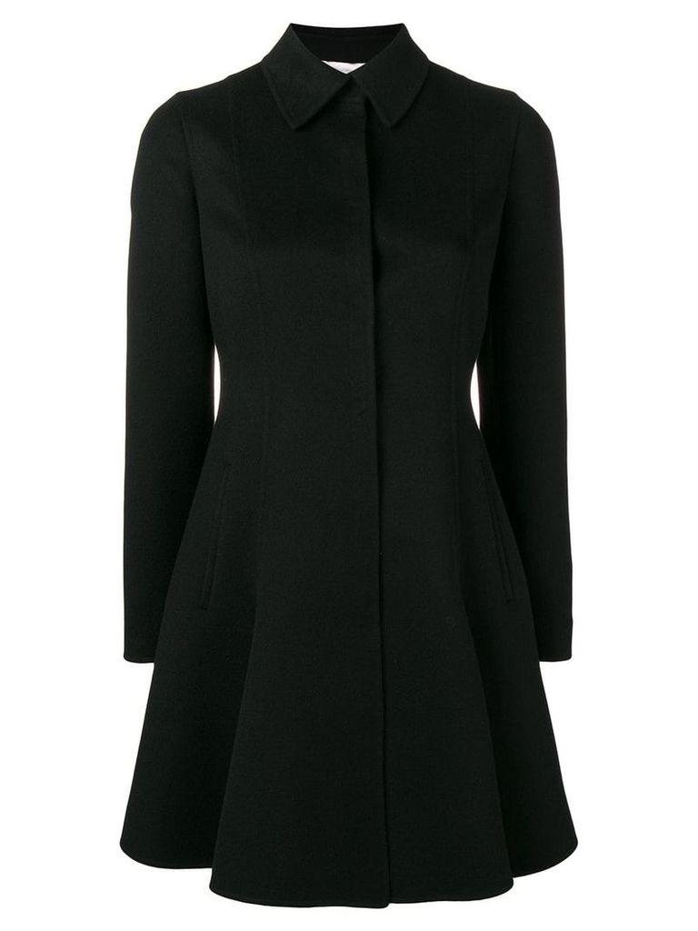 Valentino Valentino single-breasted coat - Black