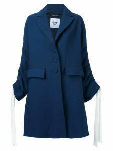 Rossella Jardini drawstring sleeve coat - Blue