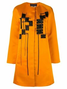 Talbot Runhof Munich coat - Orange