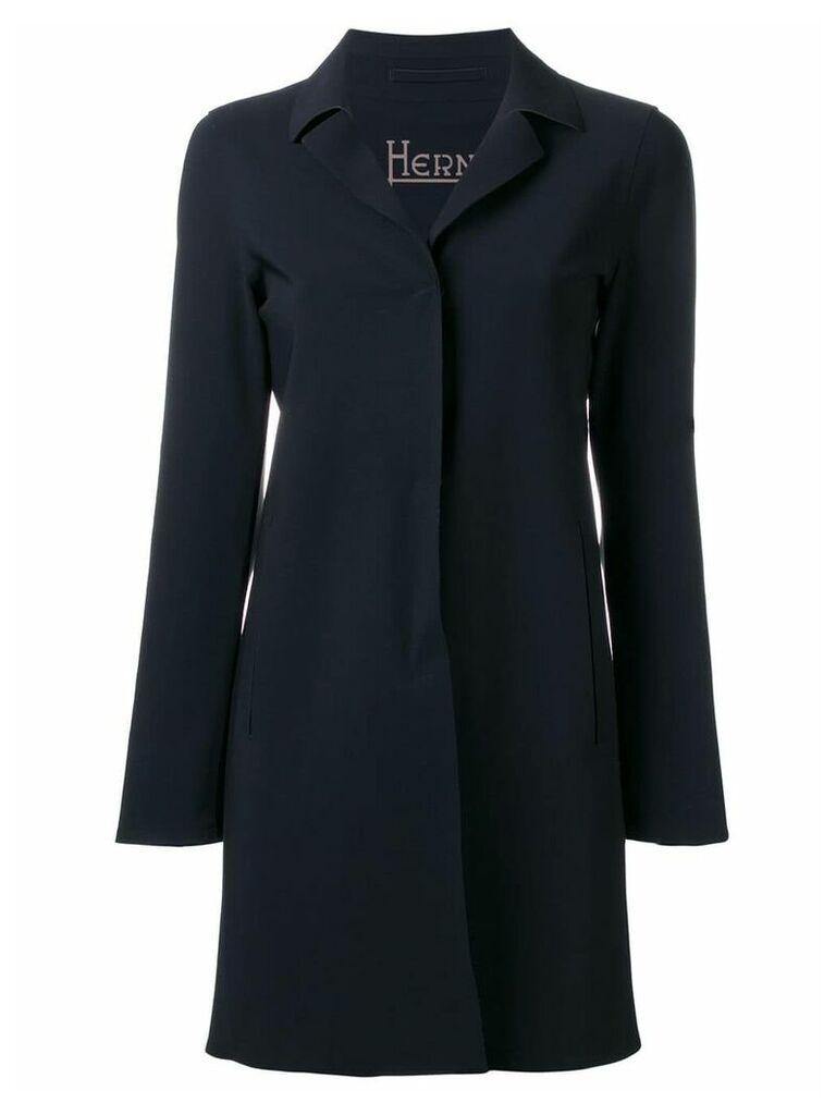 Herno classic coat - Black