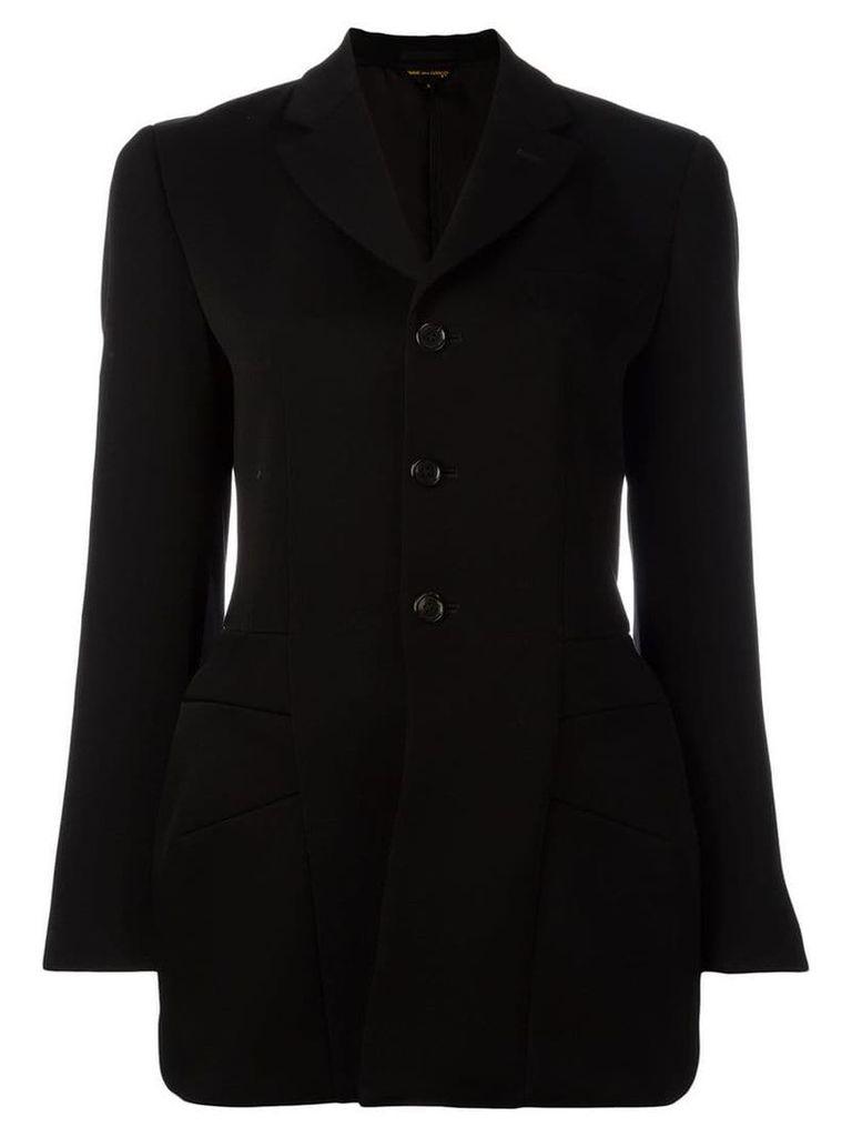 Comme Des Garçons structured coat - Black