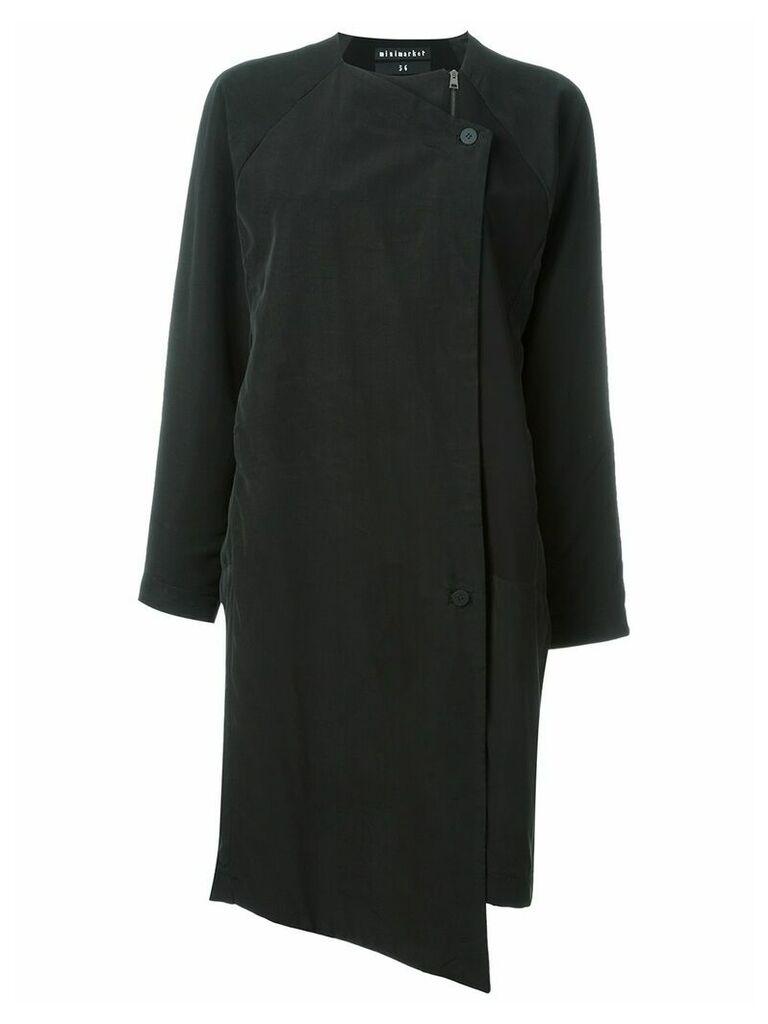 Minimarket 'Soul' single-breasted coat - Black