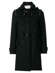 Valentino Rockstud duffle coat - Black