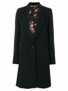 Isabel Marant single-button coat - Black