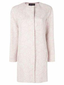 Talbot Runhof Munich coat - Neutrals