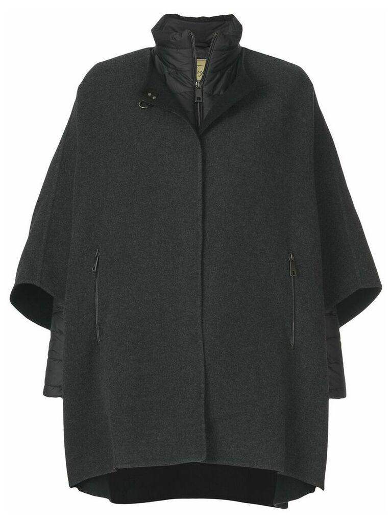 Fay cape coat - Black
