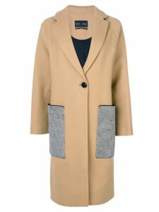 Proenza Schouler Long Wool Coat - Brown