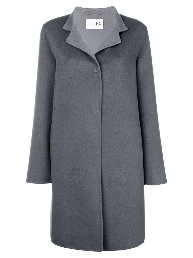 Manzoni 24 single breasted coat - Grey