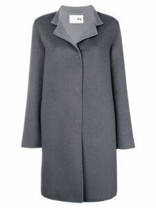 Manzoni 24 single breasted coat - Grey